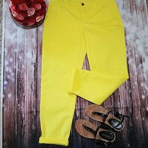 Gap Broken-in Yellow Pants